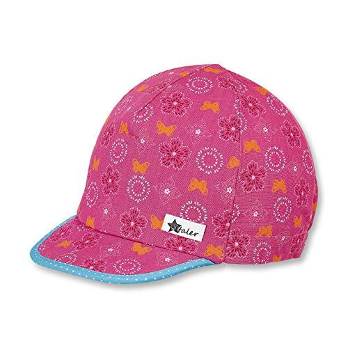 Sterntaler Schirmmütze für Mädchen, Alter: 2-4 Jahre, Größe: 53, Magenta