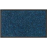 Mibao Door mat, 20 x 32 inch Rubber Backing Non Slip Low-Profile Super Absorbent Door Mat Cotton Shoe Scraper Dirt Trapper Pet Mat for Front Door
