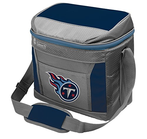 Rawlings unisex Coleman NFL Soft-Sided Insulated Cooler Bag, 16-Can Capacity, Tennessee Titans Blue