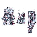 Nachtwäsche Damen Satin Babydoll Kleider Kurz Nachtwäsche Für Damen Schlafanzughose Cyell Nachthemd Sexy Nachtwäsche Dessous Kaminsims (A1-Blau,M)