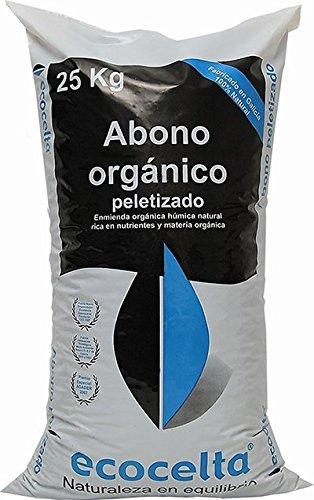 Abono orgánico peletizado 25 kg Ecocelta