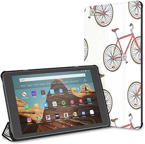 Funda para bicicleta bicicleta deporte Fire Hd 10 Tablet (9ª/7ª generación, 2019/2017 lanzamiento) Kindle 10 fundas y fundas Kindle Fire Hd Tablet Case Auto Wake/Sleep para tablet de 10.1 pulgadas