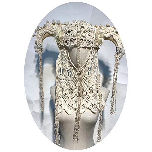 Iceclubs Maskerade Maske Herren / Frauen gesäumt übertrieben Maske Kopfbedeckung Karneval / Party / Weihnachten,Maskerade Maske Musical Party Glocken Mardi Gras Party Venedig Prinzessin