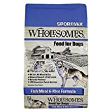 Sportmix Wholesomes Fish Meal And Rice Dry Dog Food, 40 Lb.