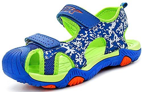 Sandalias del Niño de Verano Las Zapatillas de Deporte Sandalias Velcro para Niño Zapatillas de Deporte Al Aire Libre