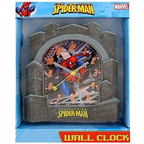Marvel Spiderman Wanduhr