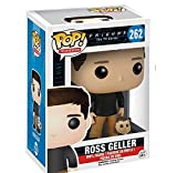 Funko Pop Television : Friends - Ross Geller with Marcel 3.9inch Vinyl Gift for Boys Comedy Television Fans SuperCollection