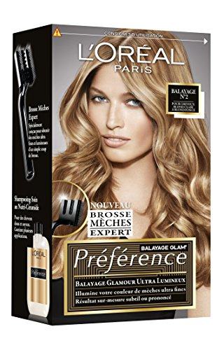 L'Oréal Paris Préférence Kit Mèches Balayage Cheveux Blond Clair & Blond Foncé (N°2)