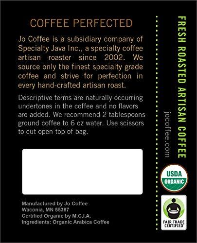 No Fun Jo Decaf Medium Dark Organic Decaf Coffee