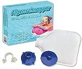 Algenschnapper Filtro Adicional para Piscinas - Set de iniciación 2020, Novedad Mundial, Blanco