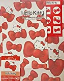 Sanrio Hello Kitty Letter Set 12 Writing Paper + 6 Envelopes + 7 Stickers Stationary Japan (Ribbon)