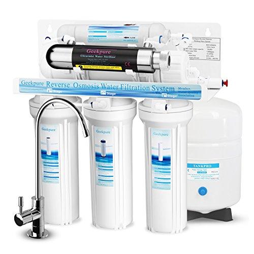 Geekpure: Sistema de filtro de agua potable