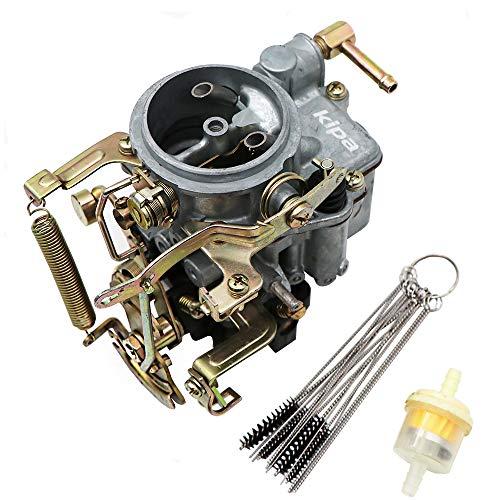 KIPA Carburetor for Nissan Pulsar Base A12 DATSUN SUNNY B210 1.6L, Replace OEM Part Number 16010-H1602 16010H1602 With Fuel Filter & Carbon Dirt Jet Cleaner Tool Kit