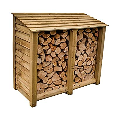 The Garden Supplies Centre Large Log Store, Pressure Treated