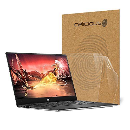 Celicious Vivid Invisible Glossy HD Screen Protector Film Compatible with Dell XPS 13 9360 (Non-Touch) [Pack of 2]