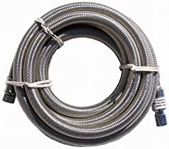 Watts MFS SCC120-44PB Floodsafe 1/4-by-1/4-by-10 Foot Stainless Ice-Maker Connector