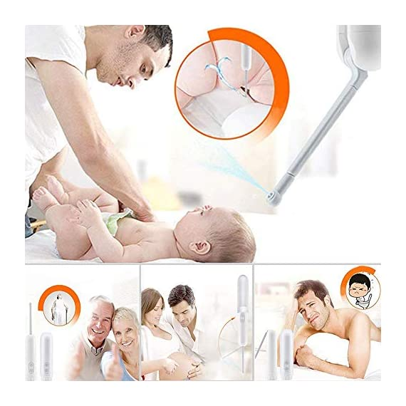 """Meidong Portable Travel Bidet Sprayer Handheld Personal Bidet Easy-to-use Electric Bidet with Decompression Film and 180… 7 💕【Easy to Use and Stay Clean】Remove the cover and fill it with water, then invert, point, press the H / L key to start working according to your needs.180 degrees rotary nozzle, which can be manually adjusted freely. Two washing modes: """"L"""" is gentle, """"H"""" is strong, meet your different needs 💕【Extreme Experience】Our portable travel bidet Providing a new refreshing experience,No more harsh toilet paper,can make you feel comfortable and clean whenever you using it, which gives you a spotless out-of-the shower feeling,A gentle form of personal hygiene 💕【Portable and Ideal for Travel】Compact handheld size make it easily to carry and enough to fit in your backpack, baggage.portable bidet is perfect for personal care hygiene refresher at home, office, on vacation, travel and more"""