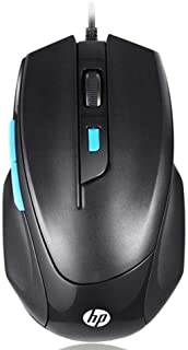 HP USB Mouse For Game Consoles M150 For (Macbook & Laptop & PC) - Black