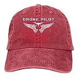 MKDIJIUWL Drone Pilot - Gorra de béisbol unisex