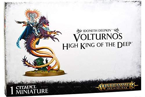 Games Workshop Volturnos High King of the Deep 87-28 - Idoneth Deepkin - Warhammer Age of Sigmar