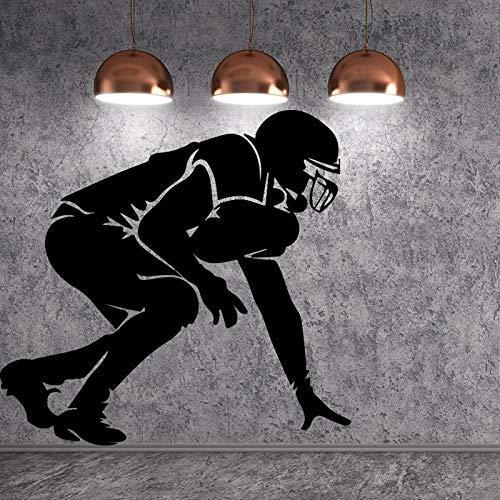 yaofale Essen Zitat Wandaufkleber Muskulös Charakter Bild Vinyl Wohnzimmer Schlafzimmer Wohnkultur DIY Wandaufkleber 42x45 cm