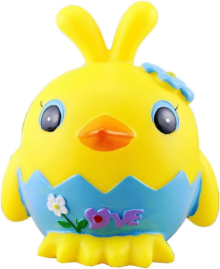 ZSM Money Bank Cute Chicken Unbreakable Coin Spasm price wit Year-end annual account Piggy