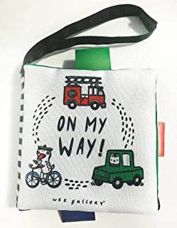 Wee Gallery Stroller Books: On My Way: On My Way! A Wee World Full of Vehicles (Wee Gallery Cloth Books)