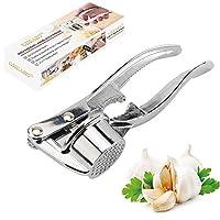 spremiaglio pressa aglio professionale manuale garlic press, pratico utensile da cucina, lavabile in lavastoviglie, facile da pulire