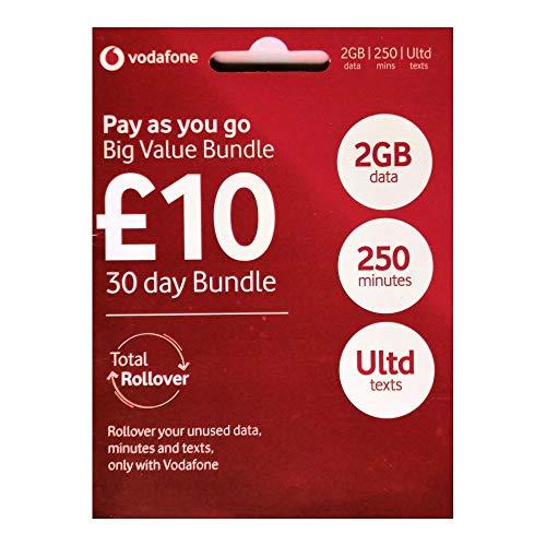 Vodafone 4G Ultimate GROßE Wert Set Starter Triple Sim-karte - Prepaid - Enthält Nano/Mikro/Standard - UNBEGRENZTE ANRUFE, SMS & DATEN für IPHONE 4/4S/5/5C/5S/6/6S/6 Ipad 2/3/4/5/Luft/Air2/Air5 / GALAXY S2/S3/S4/S5/S6/S6-Edge / GALAXY TAB / NOTIZEN 2/3/4/5- VERPACKT - > MOBILES DIRECTS COMMUNICATIONS LTD