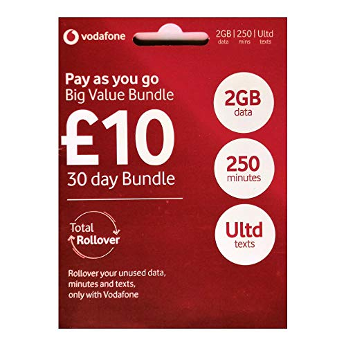 Vodafone 4G Ultimate GROßE Wert Set Starter Triple Sim-karte - Prepaid - Enthält Nano/Mikro/Standard - UNBEGRENZTE ANRUFE, SMS & DATEN für IPHONE 4/4S/5/5C/5S/6/6S/6 Ipad 2/3/4/5/Luft/Air2/Air5 / GALAXY S2/S3/S4/S5/S6/S6-Edge / GALAXY TAB / NOTIZEN 2/3/4/5- VERPACKT - > MOBILES DIRECTS COMMUNICATIONS LTD