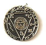 Terre Divinatoire Amulette et Talisman Protection - Bijoux Esoterique - en Pendentif ou sur Soi - A Le Pouvoir Contre Toutes Les MÉSAVENTURES - 100% sans Coloration - 100% Fabrication Européenne