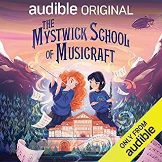 The Mystwick School of Musicraft audiobook cover art