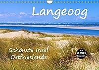 Langeoog - Schoenste Insel Ostfrieslands (Wandkalender 2022 DIN A4 quer): Impressionen der Nordseeinsel Langeoog (Geburtstagskalender, 14 Seiten )