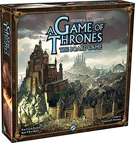 A Game of Thrones: The Board Game 2nd Edition - Jogo de Estratégia