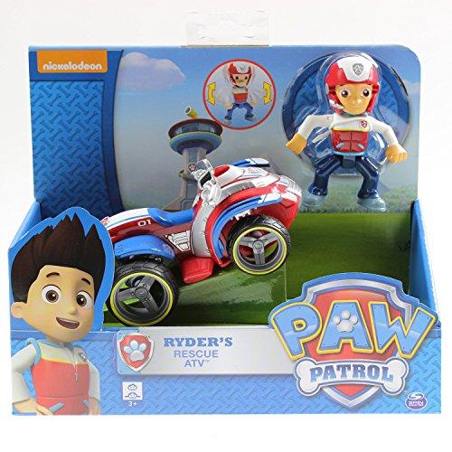 Paw Patrol Ryder's Cartoon Actionfigur Rettungsfahrzeug für Kinder