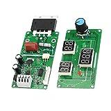 YWBL-WH Spot Welder Module Time Control Module Digital Display Controller Board 9-12V AC power input(100A)
