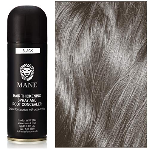 Mane Spray épaississant- Hair Thickener - 200 ml - Black (12 couleurs disponibles)