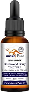 Aussie Pure Blushwood Berry Tincture - Lab Tested and Certified - Use Orally or Topically - for Immune and Cell Support