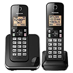 Easy To Read cordless phone Display: See who's calling at a glance on our wide, 1.6 inch Amber Backlit LCD screen on the phone's base unit and cordless handset Call Block Eliminate unwanted calls with Call Block capability; Register up to 30 numbers ...