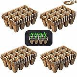 munloo 240 Macetas Biodegradables, Macetas Degradables, Macetas...