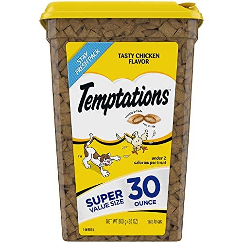 TEMPTATIONS Tasty Chicken Flavor Super Value Size 30 oz.