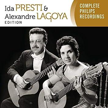 Ida Presti & Alexandre Lagoya Edition - Complete Philips recordings