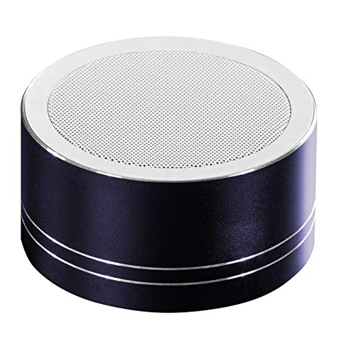Daewoo - Altoparlante Bluetooth ricaricabile, portatile, per uso interno/esterno, funzione FM, compatibile con Bluetooth/USB/Aux-in e scheda TF, batteria agli ioni di litio da 1200 mAh, colore nero