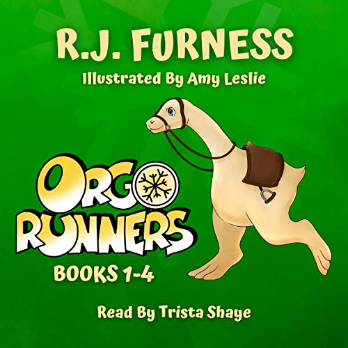 Orgo Runners: Books 1-4 Audiobook By R. J. Furness cover art