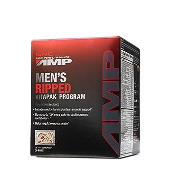 GNC Pro Performance AMP Men s Ripped Vitapak Program 30 paks