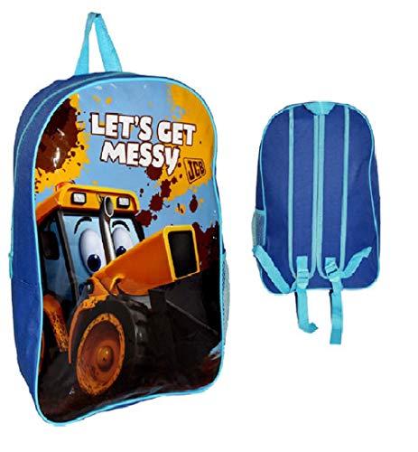 My First JCB Backpack Large Nursery School Travel Bag, 40 cm
