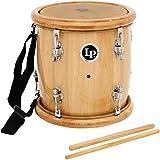 LP Latin Percussion LP271-WD - Tambora con parches de piel natural