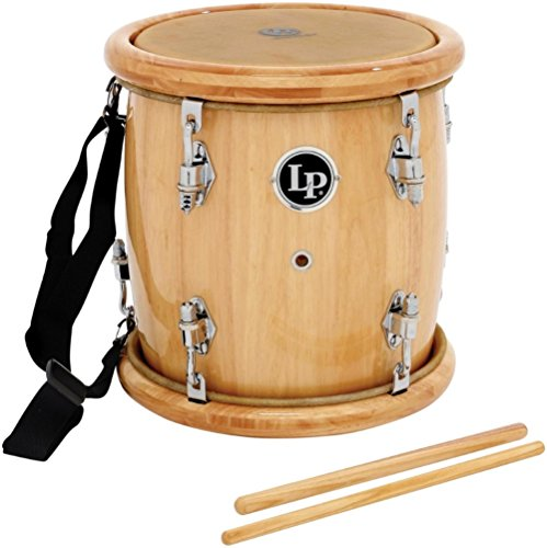 LP Latin Percussion LP271-WD - Tambora con parches de piel