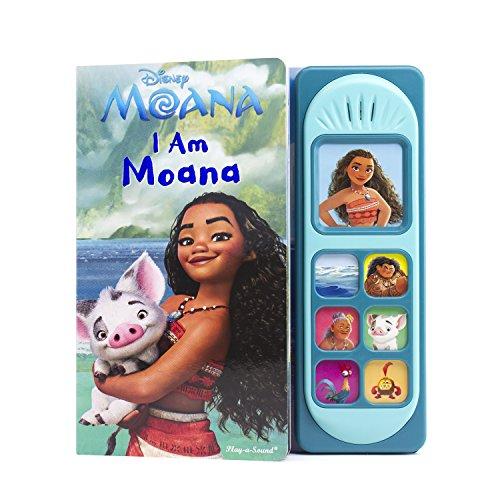 Disney Moana - I Am Moana Little Sound Book - PI Kids (Play-A-Song)