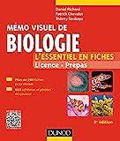 Mémo visuel de biologie - 3e éd. - L'essentiel en fiches - L'essentiel en fiches